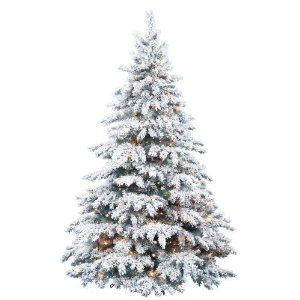 Snow Laden Flocked Artificial Christmas Trees Online