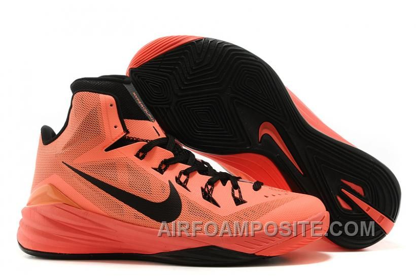 Nike Hyperdunk 2014 Orange Red Black NYbbE