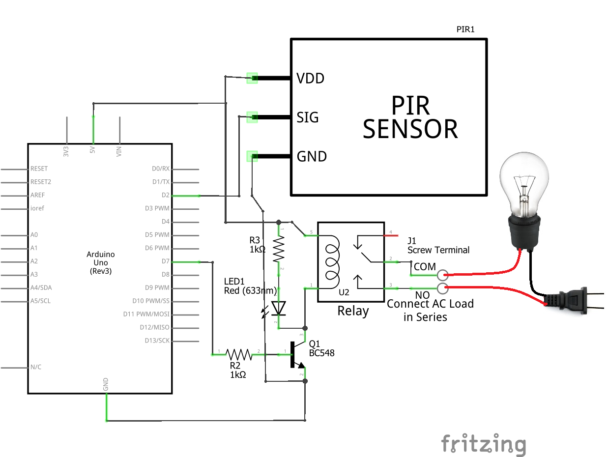 Motion Sensor Switch Wiring Diagram