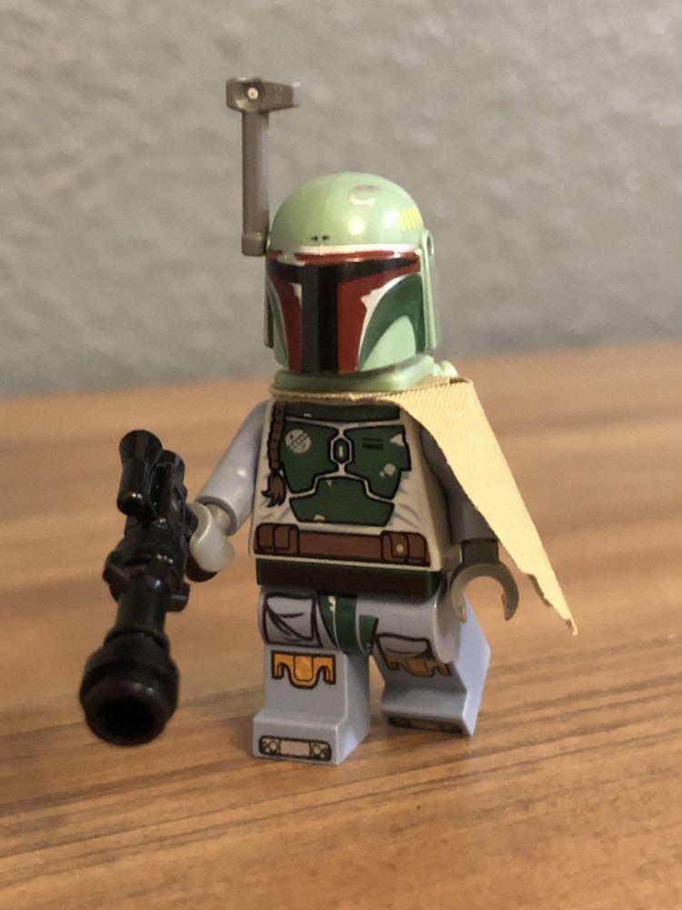 Lego Star Wars Boba Fett Minifigure Authentic