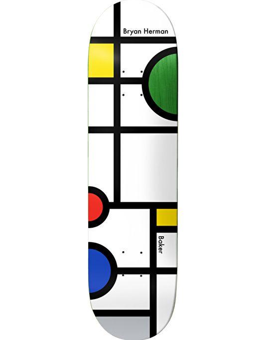 Baker Team Pro Logo White 8 25 Skateboard Deck Complete