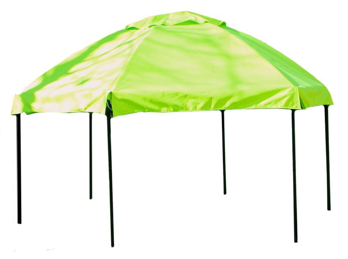 Frame It All 7ft. x 8ft. x 70in. Hexagonal Sandbox Canopy and Cover ...