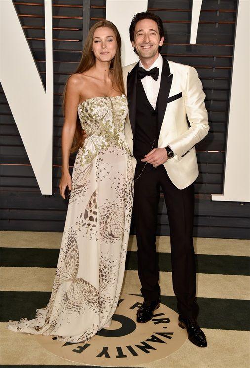 Adrien Brody e Lara Lleto