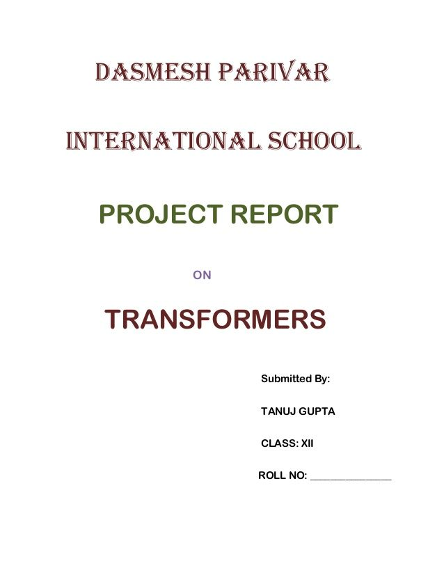 Transformers Project report project Pinterest