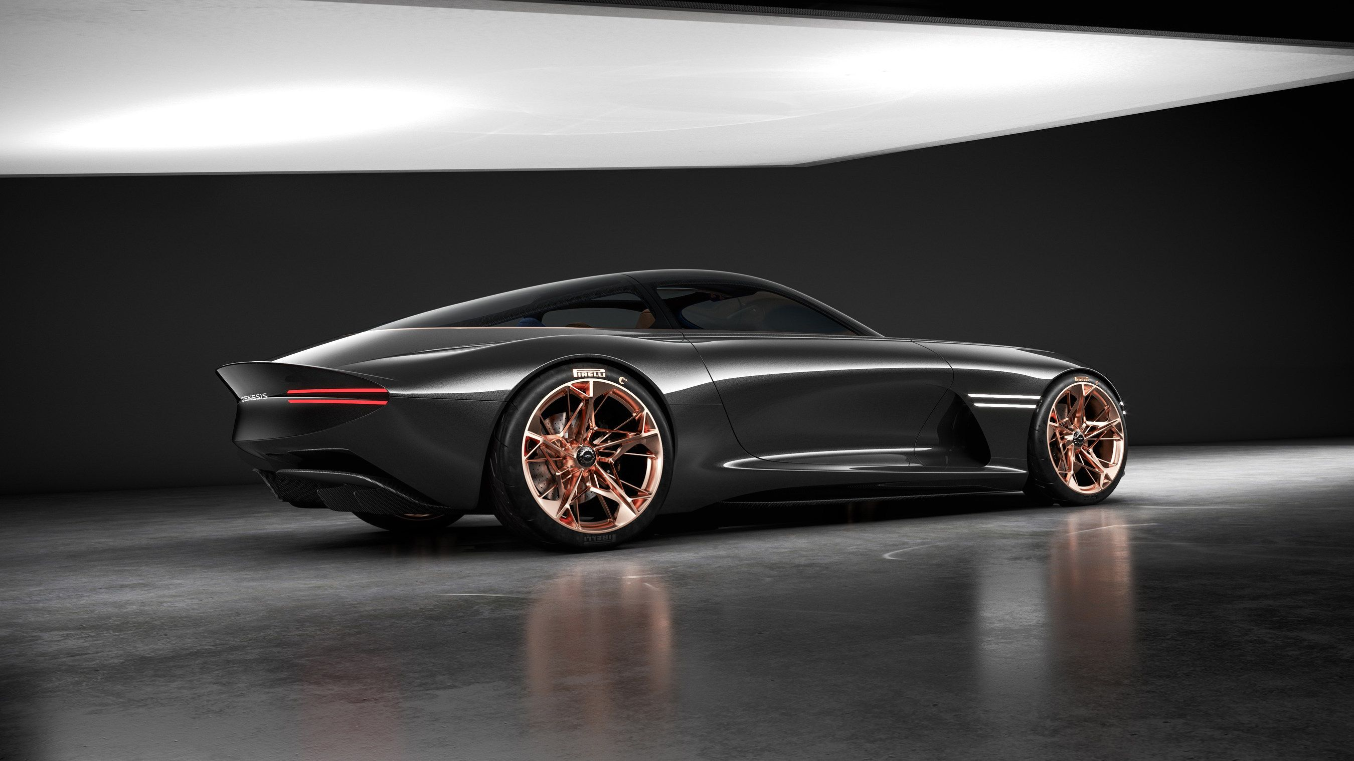 Genesis unveiled their luxury electric car 'Essentia