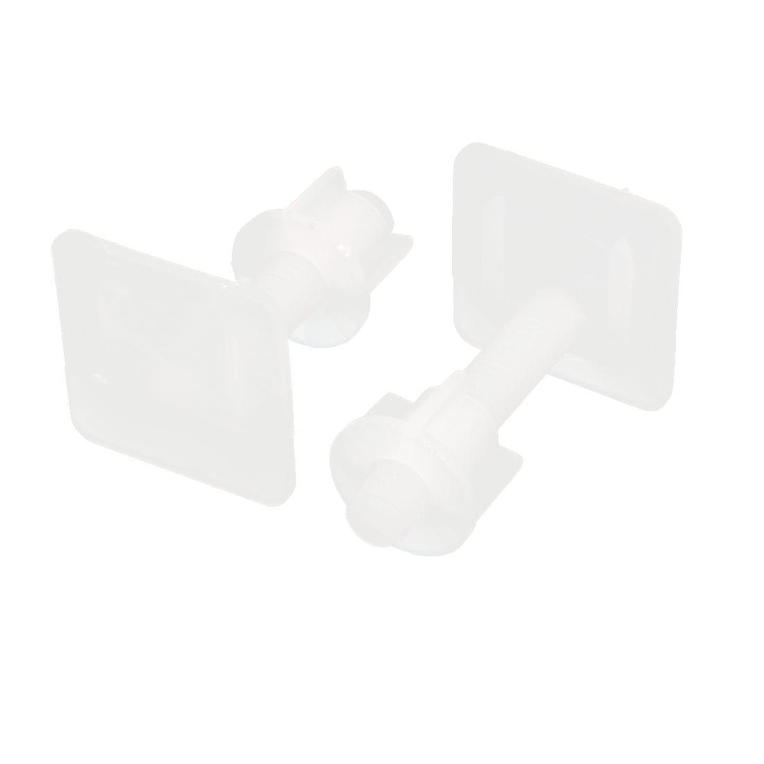 square shaped toilet seat. 10mm Thread Square Shaped Toilet Seat Hinge Bolts 57mm Long 2pcs