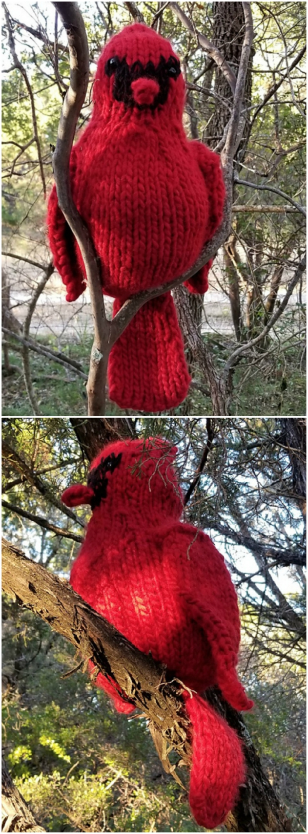 Knitted Birds Free Patterns You Will Love | The WHOot ...