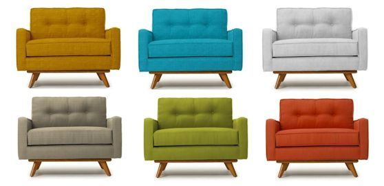 Tapizados lisos tapizados muebles muebles modernos y sillones - Sillones tapizados modernos ...