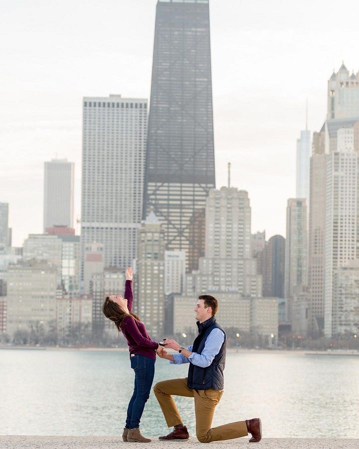 Romantic proposal idea