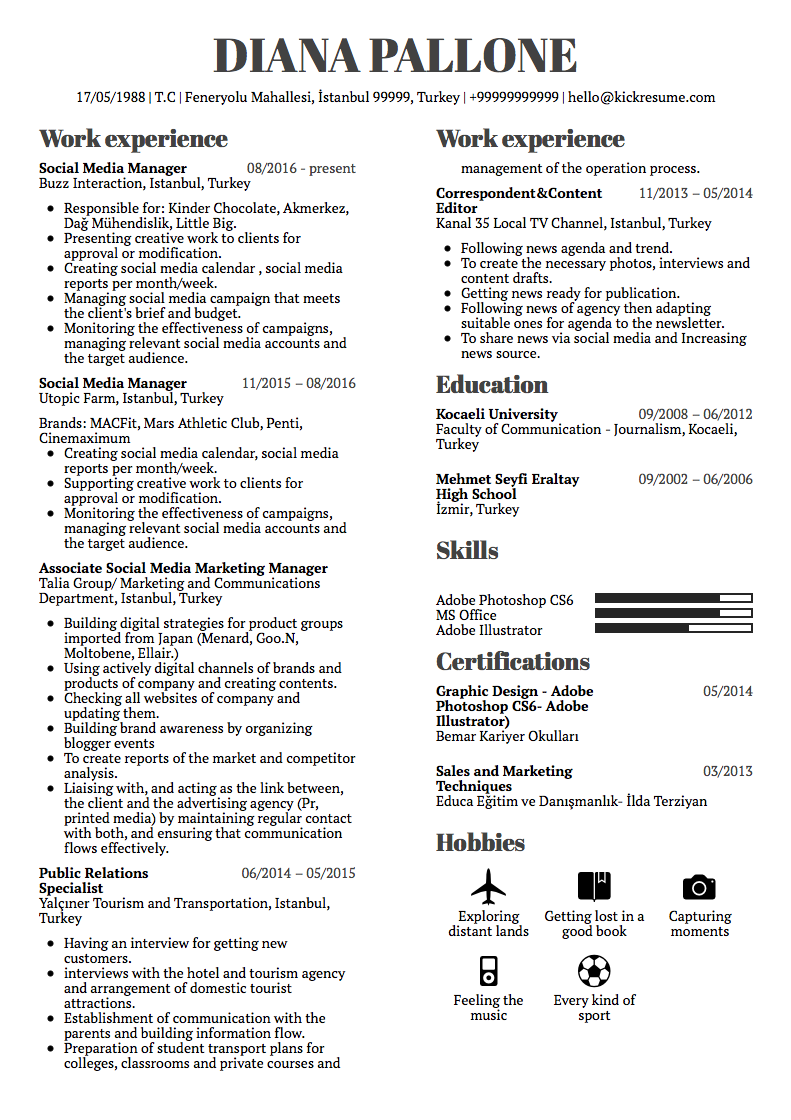 L Oreal Marketing Manager Resume Example In 2020 Good Resume