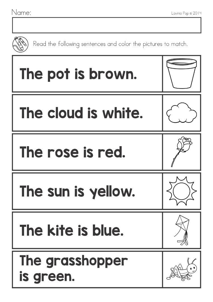Pin On Worksheets Kindergarten math worksheets reading