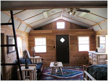 Derksen Shed House Interior