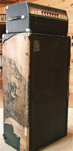 """Vintage Ampeg """"Black Line"""" SVT Bass Amp < Tube Head & 8x10 Cabinet >"""