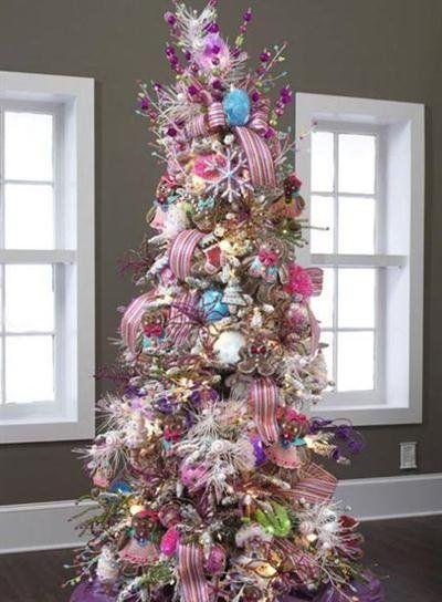 Rboles de navidad 2016 2017 ideas y tendencias for Decoraciones para arbol de navidad 2016