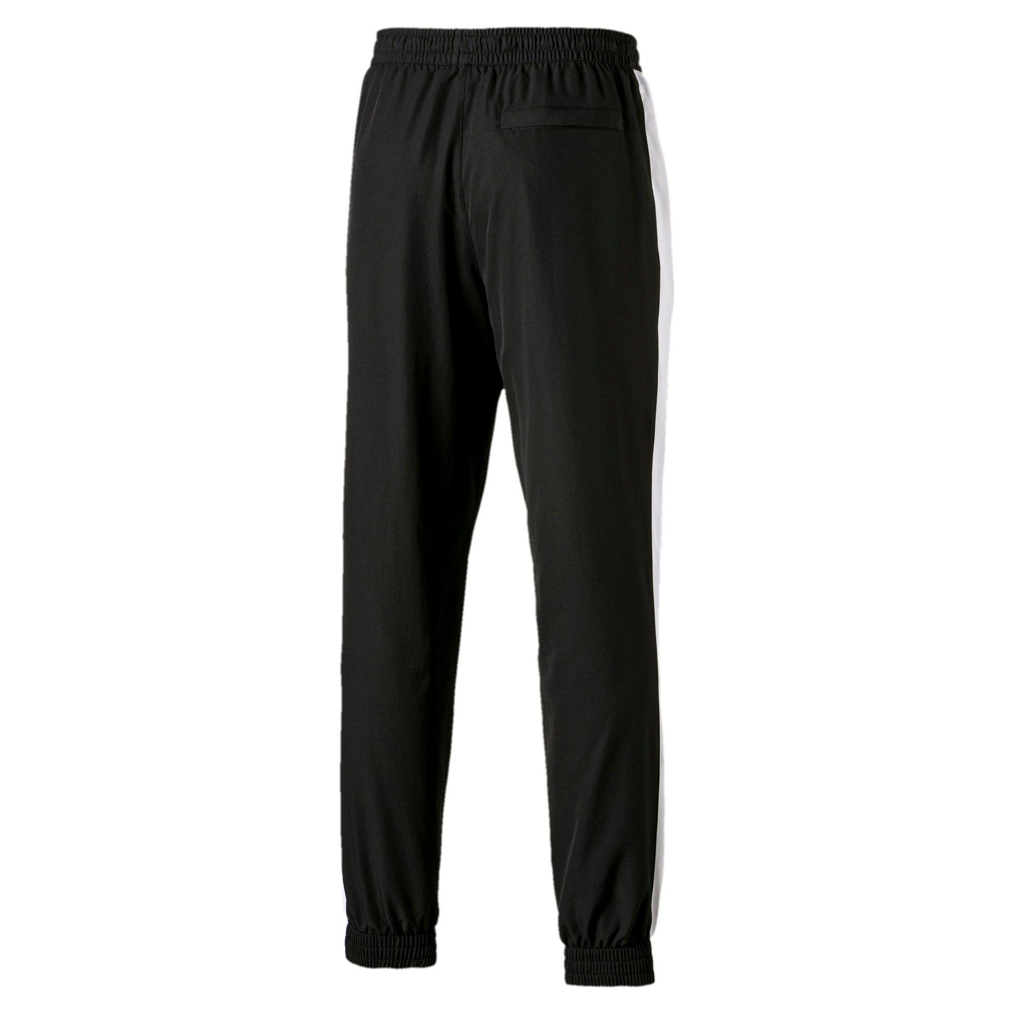 PUMA Iconic T7 Woven Men's Sweatpants in Black size 5X Large #sweatpantsoutfit