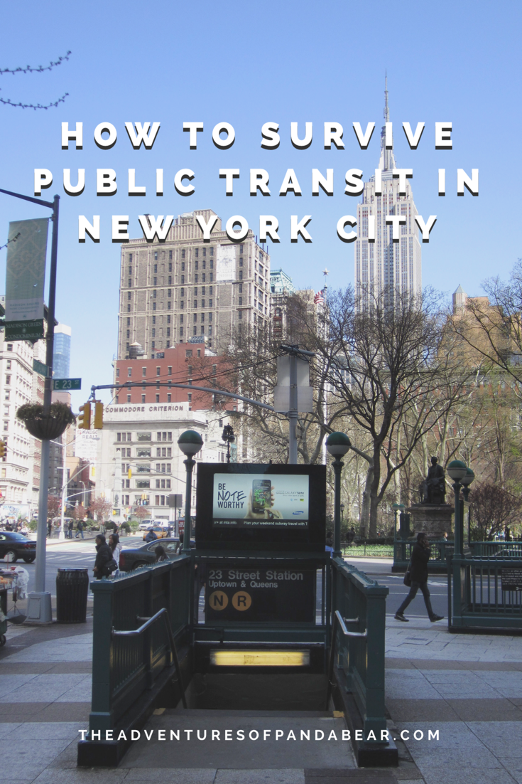 How to Survive Public Transit in NYC | Travel Bloggers Club