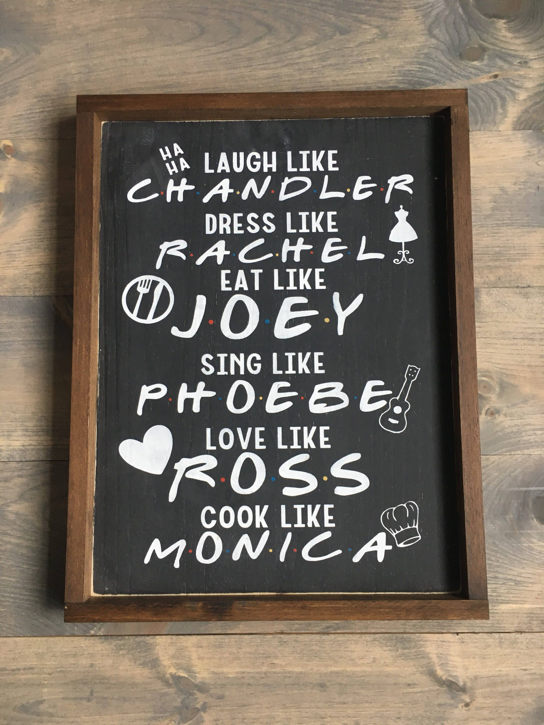 Friends tv show - friends sign by KTInspiredHome on Etsy https://www ...