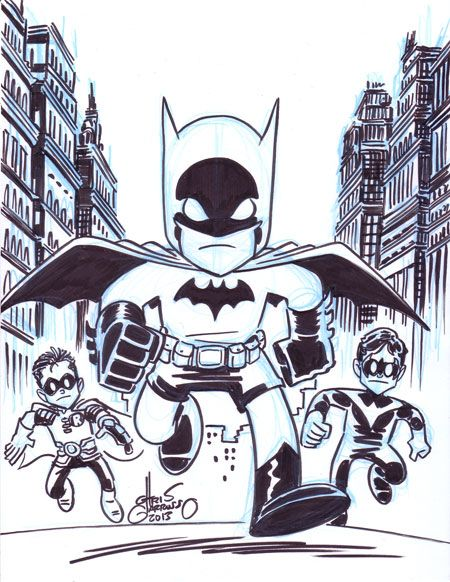 Team-Up Tuesday – Batman, Robin, and Nightwing | others | Pinterest