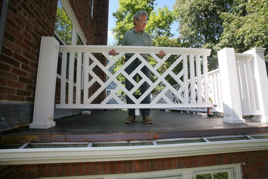pvc chippendale railing building a chinese chippendale balustrade thisiscarpentry lake. Black Bedroom Furniture Sets. Home Design Ideas