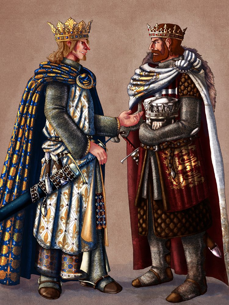 Two Kings Brings The Action In The Spongebob Wars And: Philip II Of France And Richard The Lionheart Of England