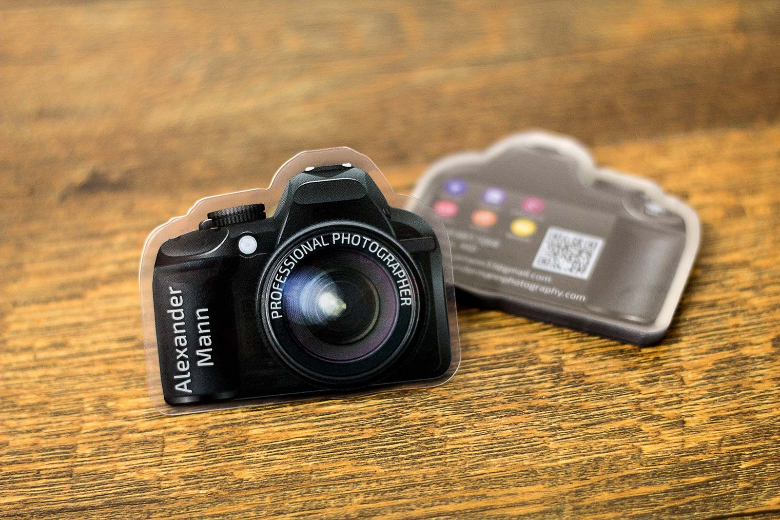 Camera Shaped Business Card Photography Business Cards Shaped Business Cards Business Cards Creative