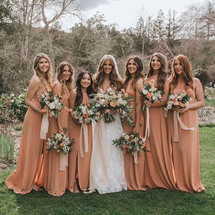 Spring Inspired Bridesmaid Dresses Spring bridesmaid