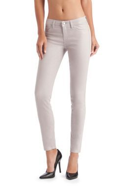 Brittney Ankle Skinny Jeans in Discoball Wash.