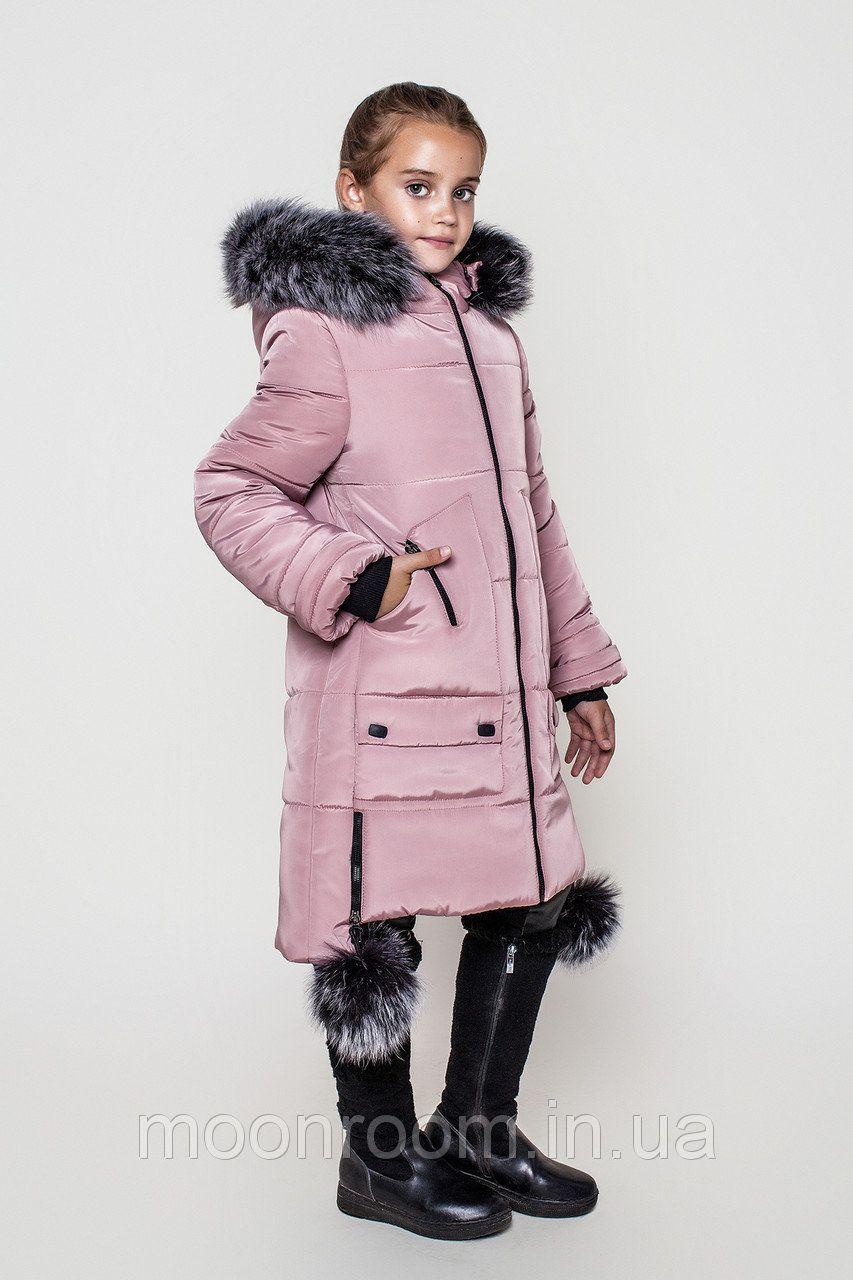 Пуховик для девочки Зима 2017-2018 - Интернет-магазин модной одежды