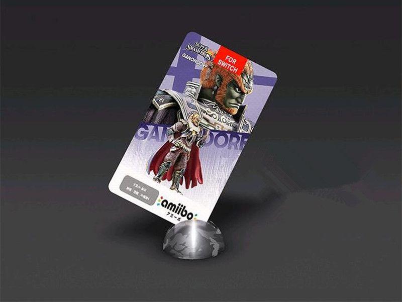 Zelda Amiibo NFC Tag Cards Set 20 Heart Wolf Link Fierce Deity