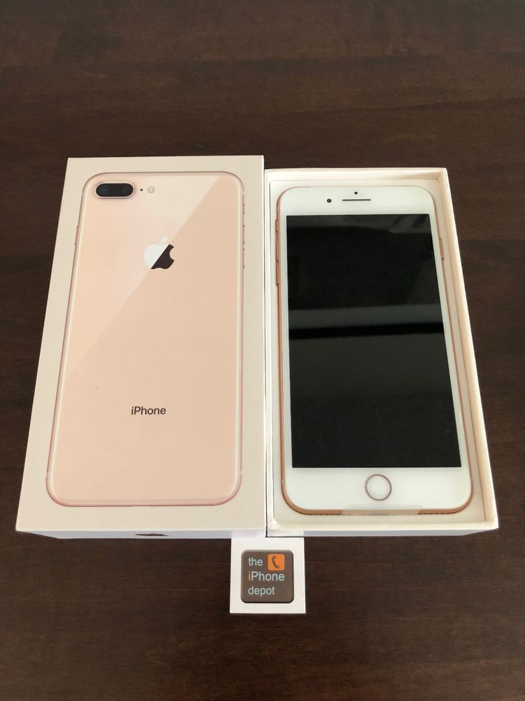 New Apple Iphone 8 Plus 256gb Gold Factory Unlocked A1897 Gsm World Wide Apple Bar Iphone Iphone 8 Plus Apple Iphone