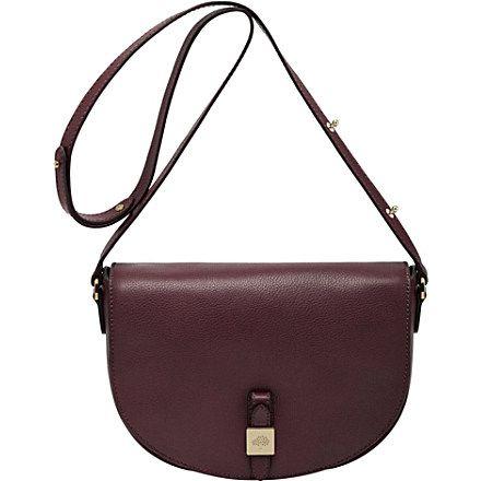 MULBERRY Tessie small soft-grain satchel (Oxblood MINE mine MINE!!