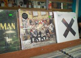 Vinyl record sales on the rise despite digital downloads.