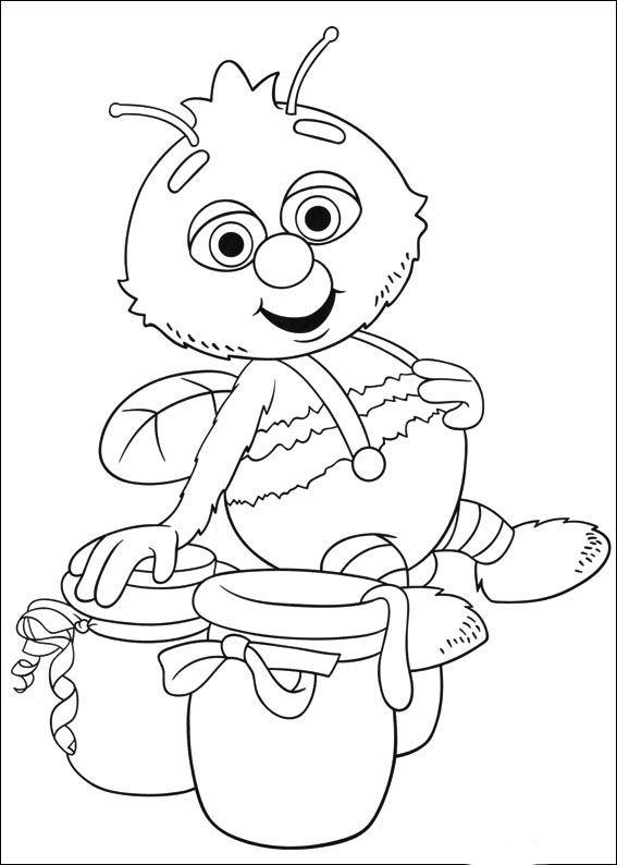 Fifi und die Blumenkinder Ausmalbilder. Malvorlagen Zeichnung ...