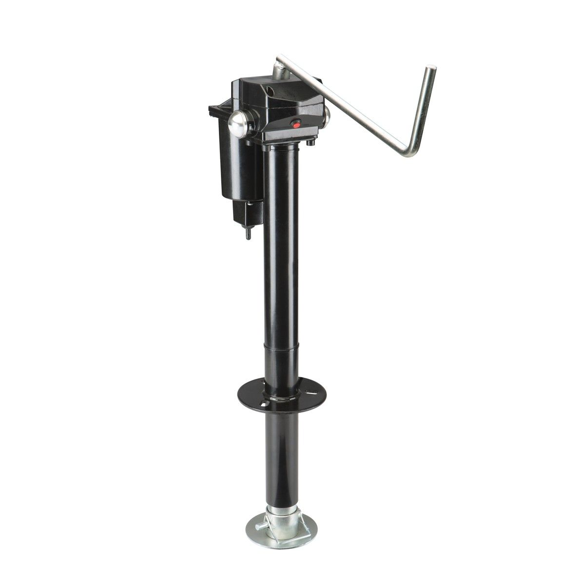 haul master 69899 3500 lb capacity electric trailer jack [ 1200 x 1200 Pixel ]