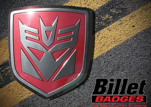 Billet Badges Product Photo Gallery
