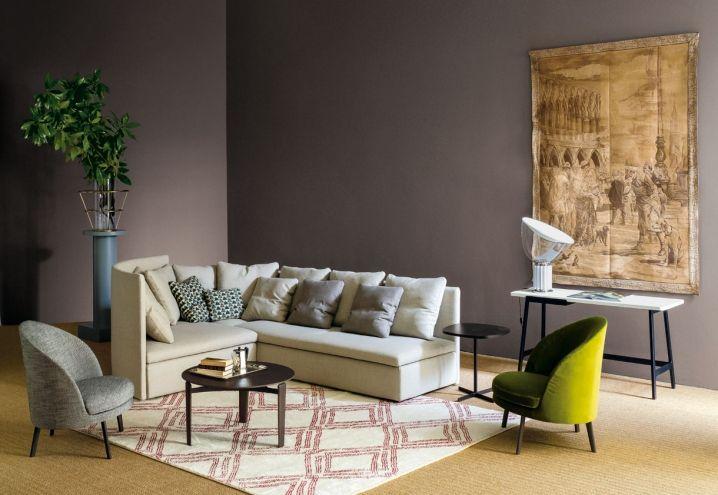 Il divano della collezione Mangold di Claesson Koivisto Rune per arflex in una delle sue possibili combinazioni(courtesy Arflex)