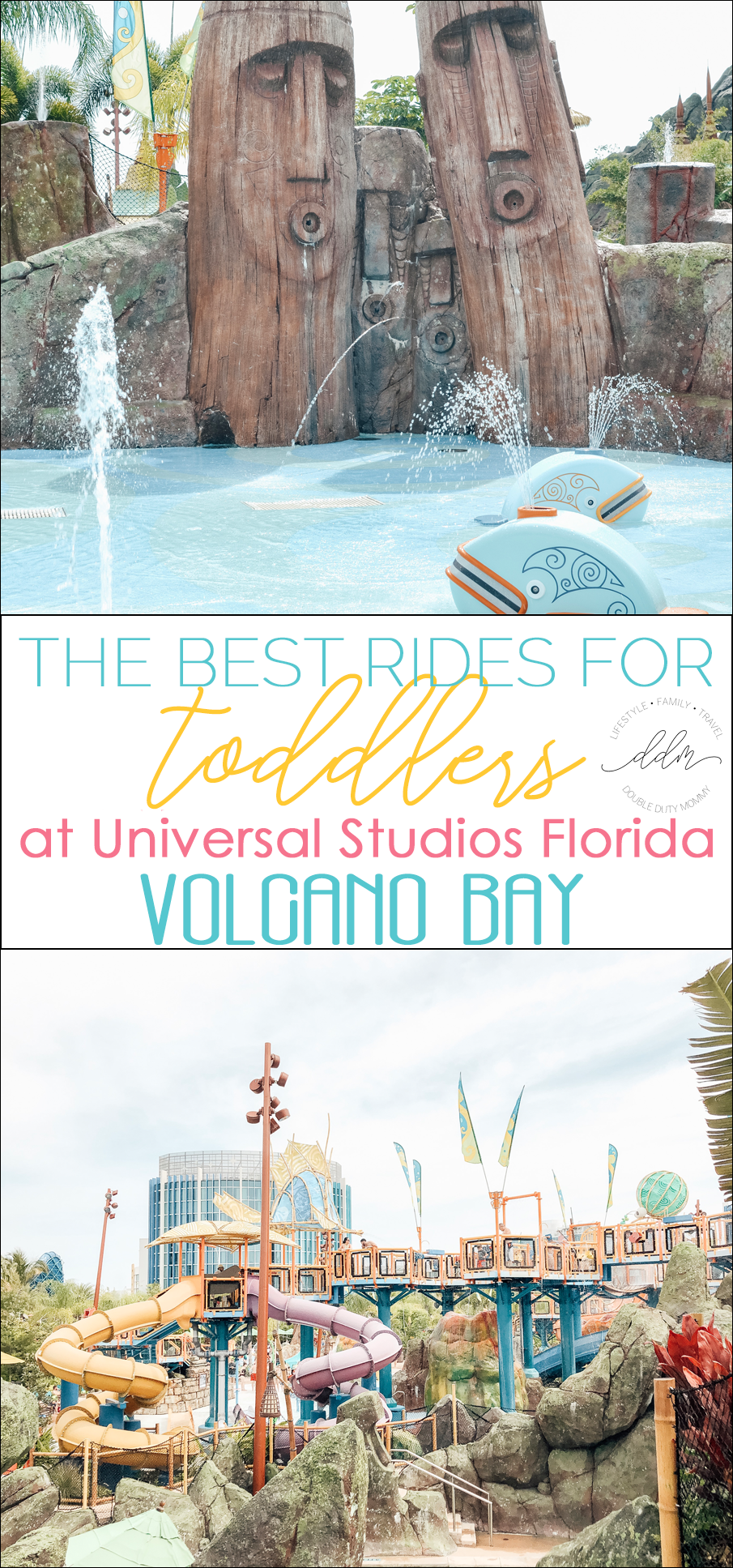 The Best Rides For Toddlers At Universal Volcano Bay Volcano Bay Volcano Bay Orlando Water Theme Park