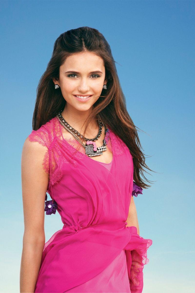 Nina Dobrev Pink