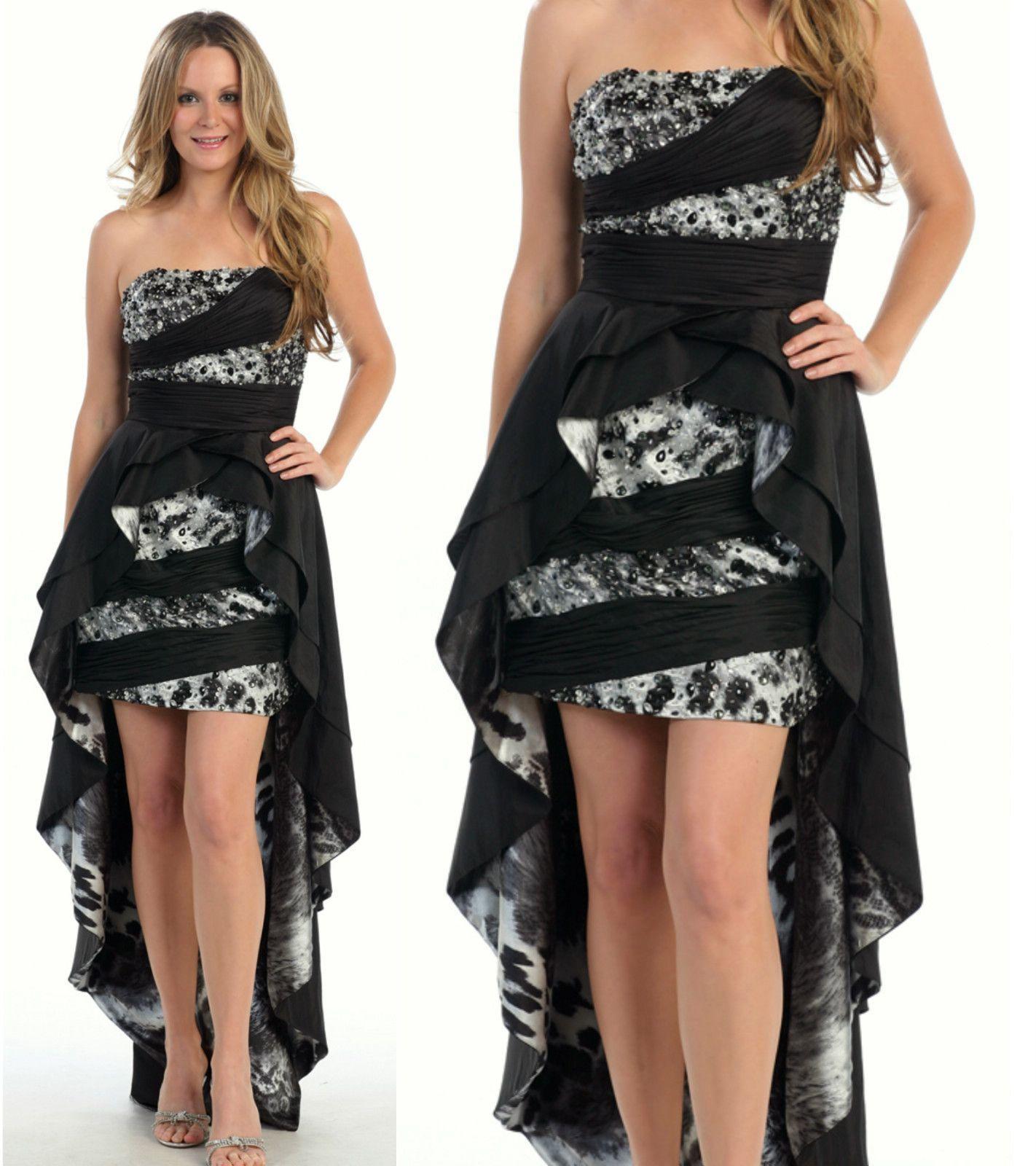 Promdressshortinfrontlonginbackg homecoming dresses
