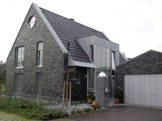klinkerhaus wohnhaus coesfeld fassade pinterest haus