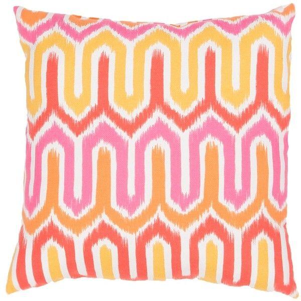 Jaipur Veranda Termiz Indoor/Outdoor Throw Pillow ($39) ❤ liked on Polyvore featuring home, home decor, throw pillows, pillow, outdoor pillows, patterned throw pillows, golden rod, inspirational home decor and outdoor toss pillows