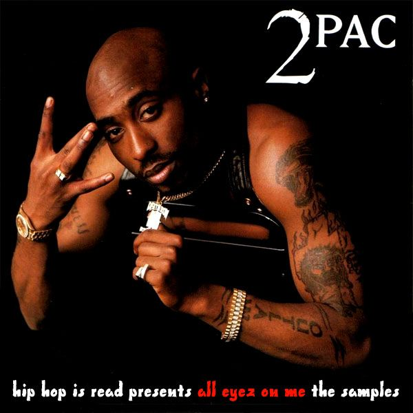 2Pac's fourth studioalbum All Eyez On Me. It is the best selling hiphop cd ever and the first double album #hiphop #2pac
