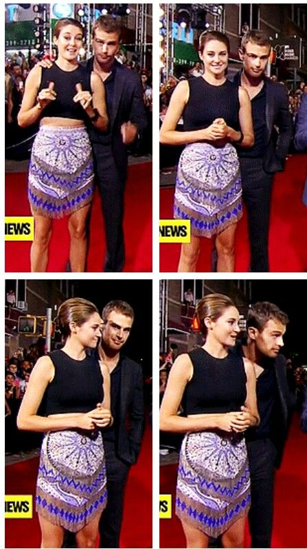 Shailene Woodley and Theo James at the 2013 Video Music ...