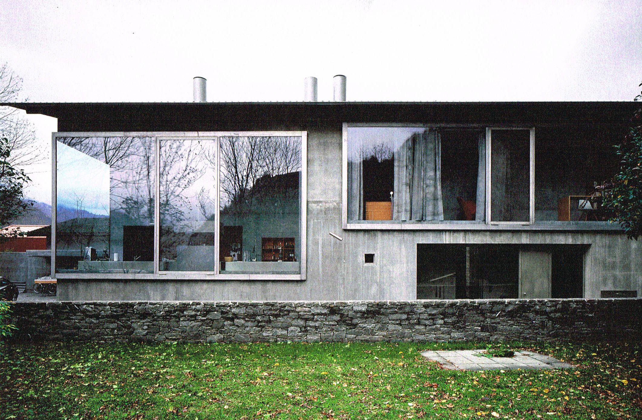 peter zumthor / architect's studio, haldenstein zumthor