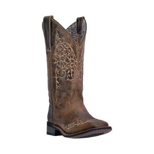 c777db506fb Women's Laredo Ivy Cowgirl Boot 5677 Taupe Leather (US Women's 8.5 M ...
