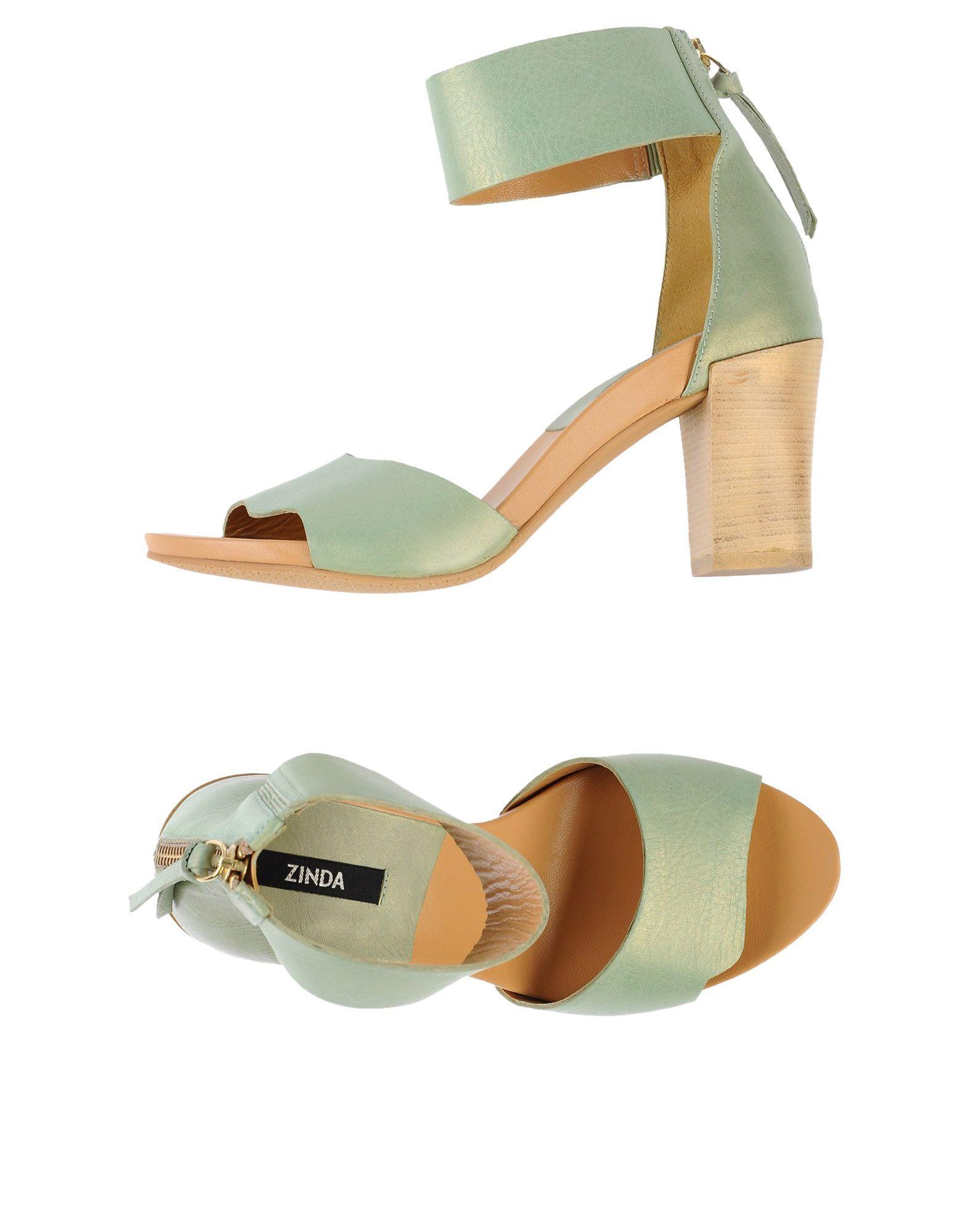 4d3acc55a3e Zinda Sandals - Women Zinda Sandals online on YOOX Netherlands