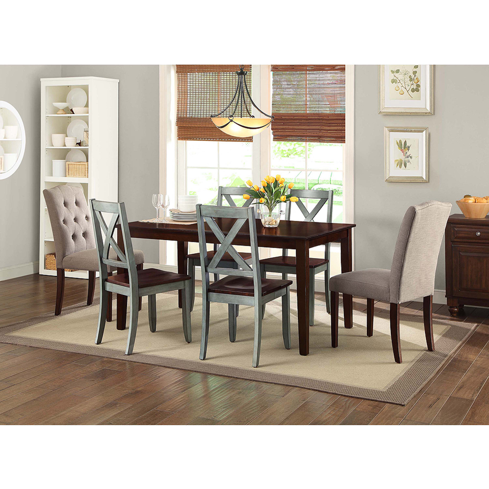 50fba7795d2f696dab261d577b199d3e - Better Homes And Gardens Bankston 6 Piece Dining Set Mocha