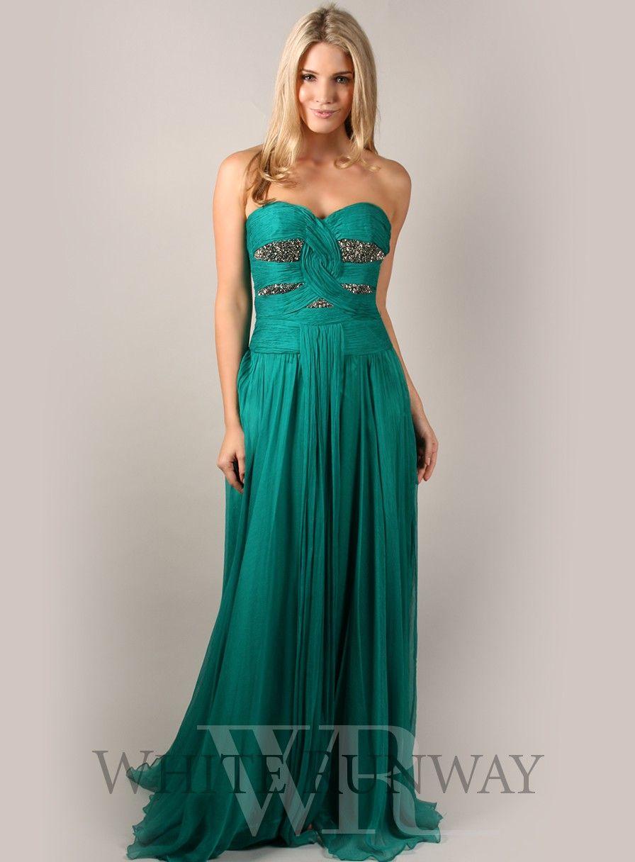 Natalie Portman Inspired Ferrari Silk Bridesmaid Dress | Red carpet ...