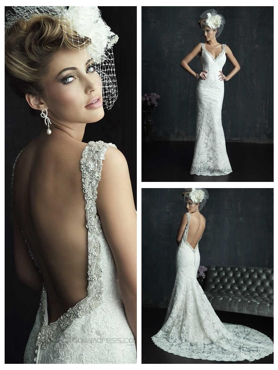 Luxury low cut back wedding dresses check more at httpsvesty luxury low cut back wedding dresses check more at httpsvesty ombrellifo Choice Image