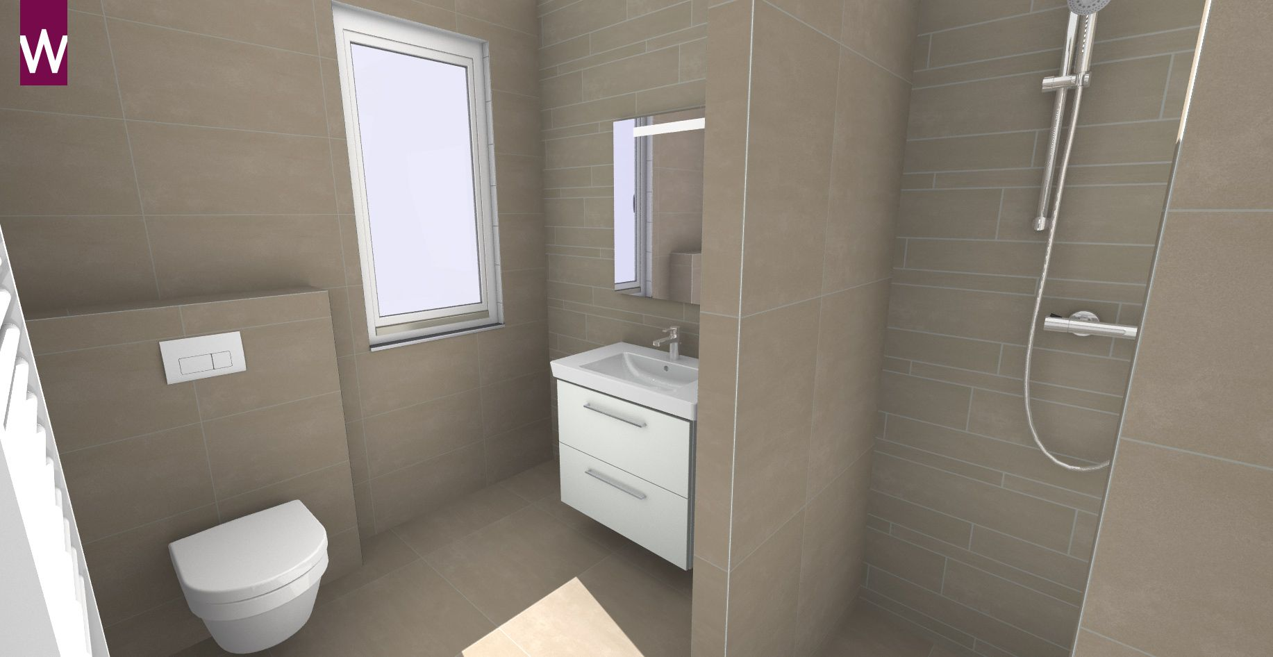 Badkamer ontwerpen 3d badkamer ontwerpen badkamer for Badkamer zelf ontwerpen